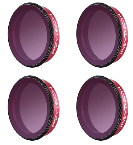 PGYTECH OSMO ACTION FILTER ND SET (8,16,32,64) PROFESSIONAL